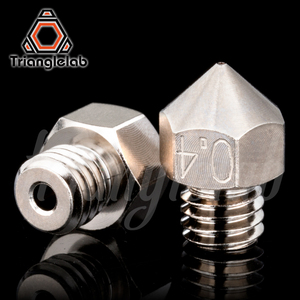 Image 3 - Trianglelab MK8 Plated Copper Nozzle Durable Non stick High Performance M6 Thread For 3D printers For CR10 Hotend ENDER3