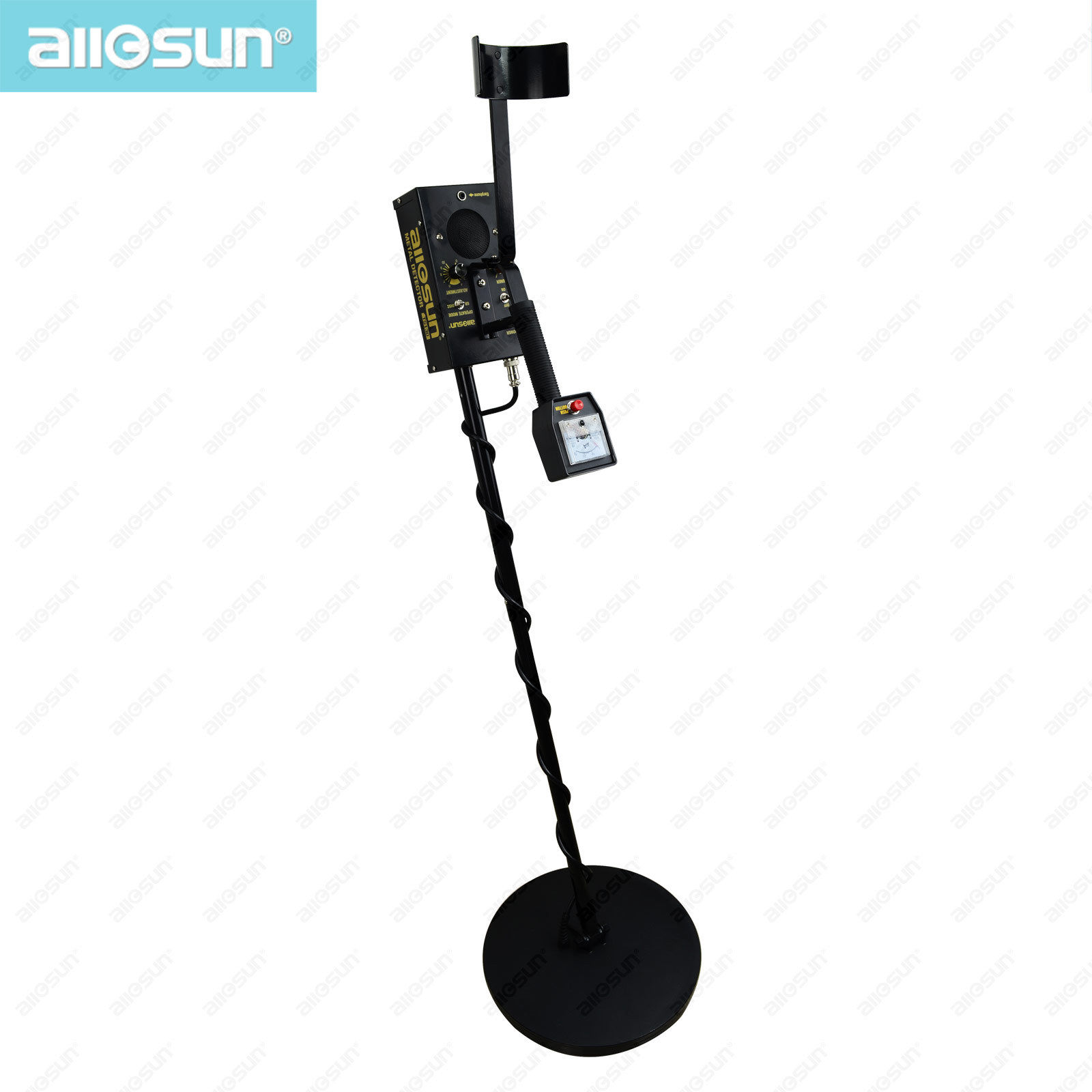 all-sun TS130 Metal Detector Underground with iron box Gold Metal Detector Treasure Hunter