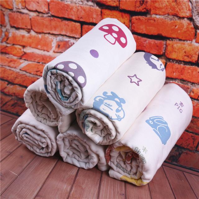 Macio banho do bebê toalha 100% algodão gaze bebê recém-nascido toalhas de praia sólida absorção de água extrema toalhinha 115*110 cm