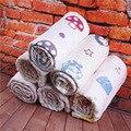 Soft baby bath towel 100% cotton gauze solid newborn baby beach towels extreme water absorption washcloth 115*110cm