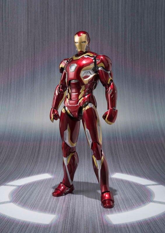 Iron Man MK42 MK43 Actionfigur Marvel Film Movie S.H.Figuarts Figur Statue DE