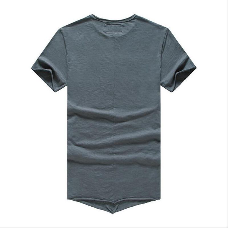 Majica s kapuljačom Muška Majica Odjeća Moda Puna boja O-izrez - Muška odjeća - Foto 6