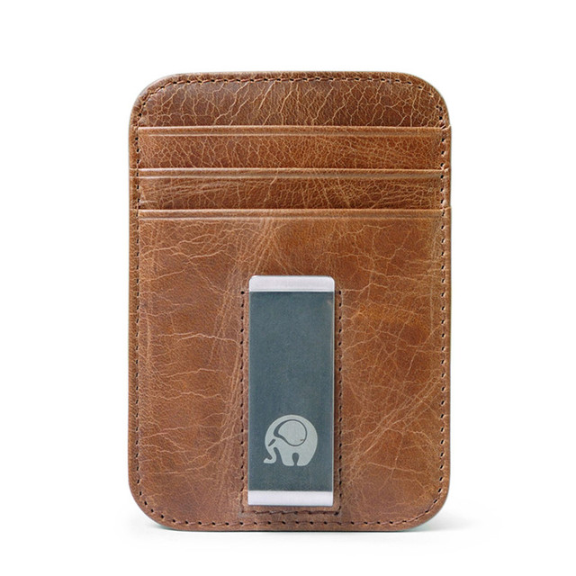 Money Clip + Card Holder