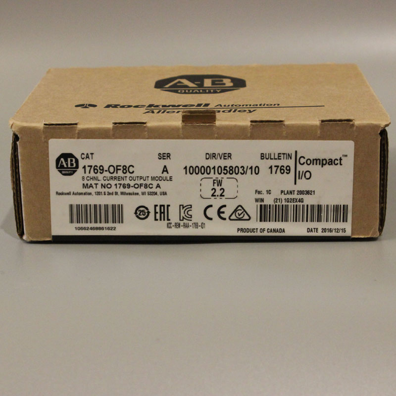 1769 OF8C 1769OF8C PLC Controller New Have in stock