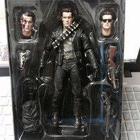 NECA Terminator 2 Judgment Day T 800 Arnold Schwarzenegger PVC Action Figure Collectible Model Toy 7