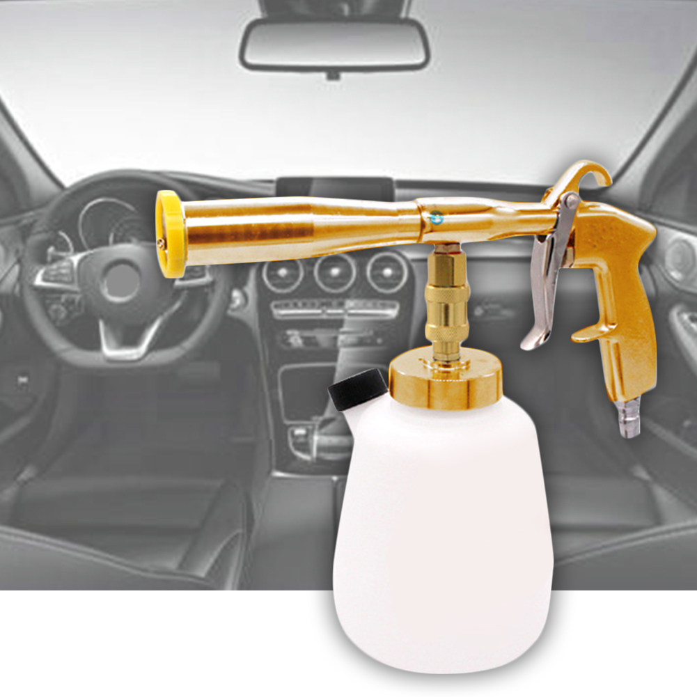 ABS High Pressure Spray Gun Brush Fast Car Cleaning Aluminum Alloy Essential Products Tool Car Washer Foam Care Practical