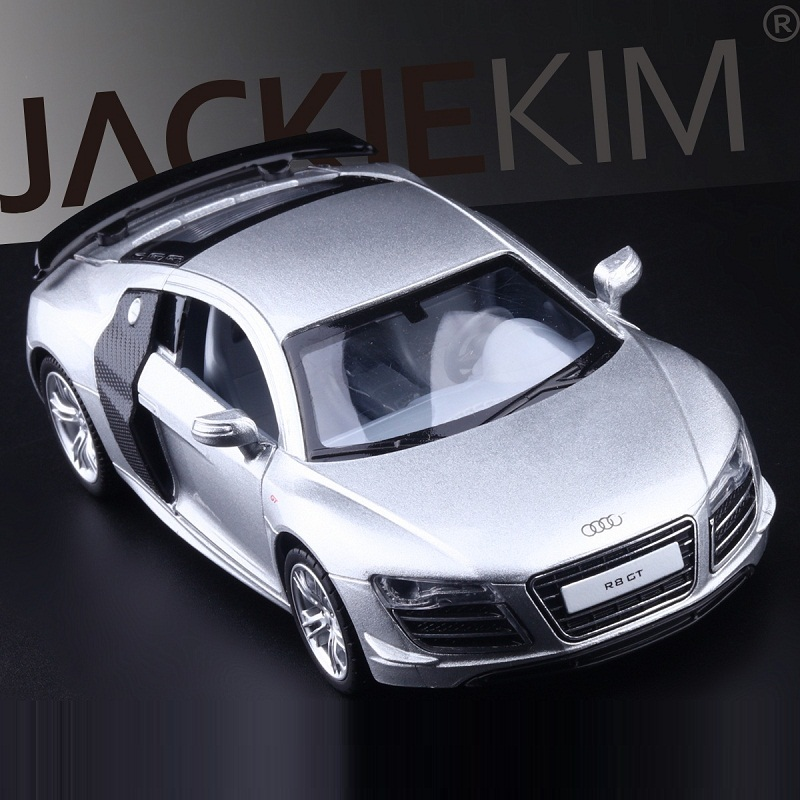 High Simulation Exquisite Diecasts&Toy Vehicles: Caipo Car Styling Audi R8 GT Supersports 1:32 Alloy Diecast Model Toy Car