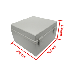 Waterproof 300*300*180mm Plastic Electronic Project Box Enclosure Cover Case with  Base Board