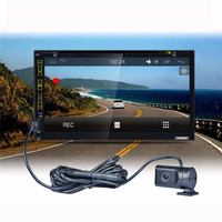 CIRPRIE Backup Camera Car 2 Din Stereo In Dash Deck android 5.1.1 Car DVD PC Player GPS Navigation dropship ap9