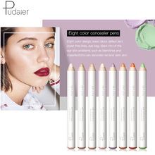 Pudaier Color Correcting Concealer Stick Face Lip Foundation Makeup Full Cover Pen Long Lasting Dark Eye Circle Hide