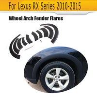 PP колеса автомобиля арки бровей полосой автомобилей Fender колеса планки для Lexus RX 270 300 350 330