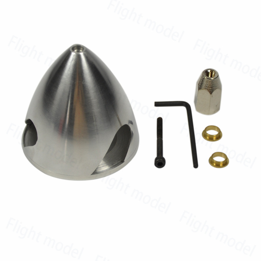 1 piece 3 Blades Pro Aluminum Spinner Special Drilled For RC Airplane 1 5 1 75