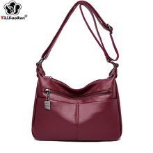 Casual Crossbody Bags for Women Brand Leather Bag Over Shoulder Designer Simple Messenger Sac A Main Bolso Mujer 2019