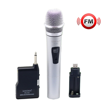 Professional Handheld Wireless VHF Microphone with Receiver wireless microphone Conference Performance system for Karaoke player