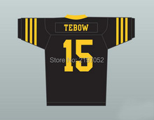 Tim Tebow 15 Christian Cross Football Jersey Custom Any Name Any Number  Stitched Men Jersey S-4XL Free Shipping b793b29cf