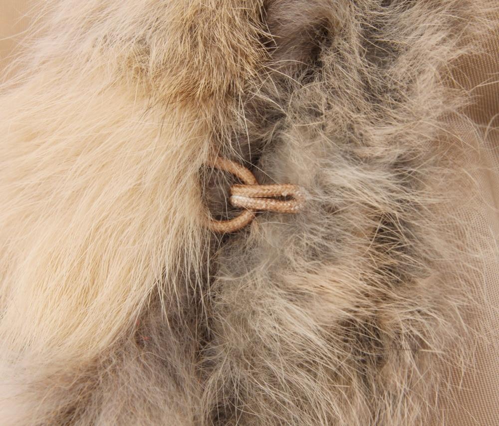 Réel Manches Chaud Raton De Fourrure Natural cou Col Lapin Survêtement Tricoté Avec Zy88033 Brown Sans Gilet Laveur Naturel Couleur V Chien qd1Bfq