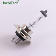 Наивысшего качества H7 светильник галогеновая лампа 4500 K 12 V 100 W 55 W 3000Lm ксеноновая теплая белая кварцевая стеклянная Автомобильная заменяемая лампочка для фар