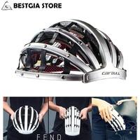 Foldable 2017 New Cycling Helmet Lightweight Portable Safety Bicycle Helmets City Bike Sports Leisure Bike Helmet