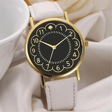 Fashion Women Watches Geneva Flower Printed Quartz Wrist Watch Clock Womens Dress Watches Men Sport Watch Relogio Feminino