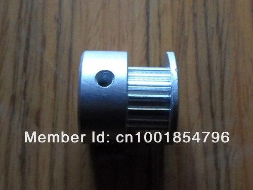 Купить с кэшбэком 18GT2 timing pulley 6mm width 5mm bore with aluminum
