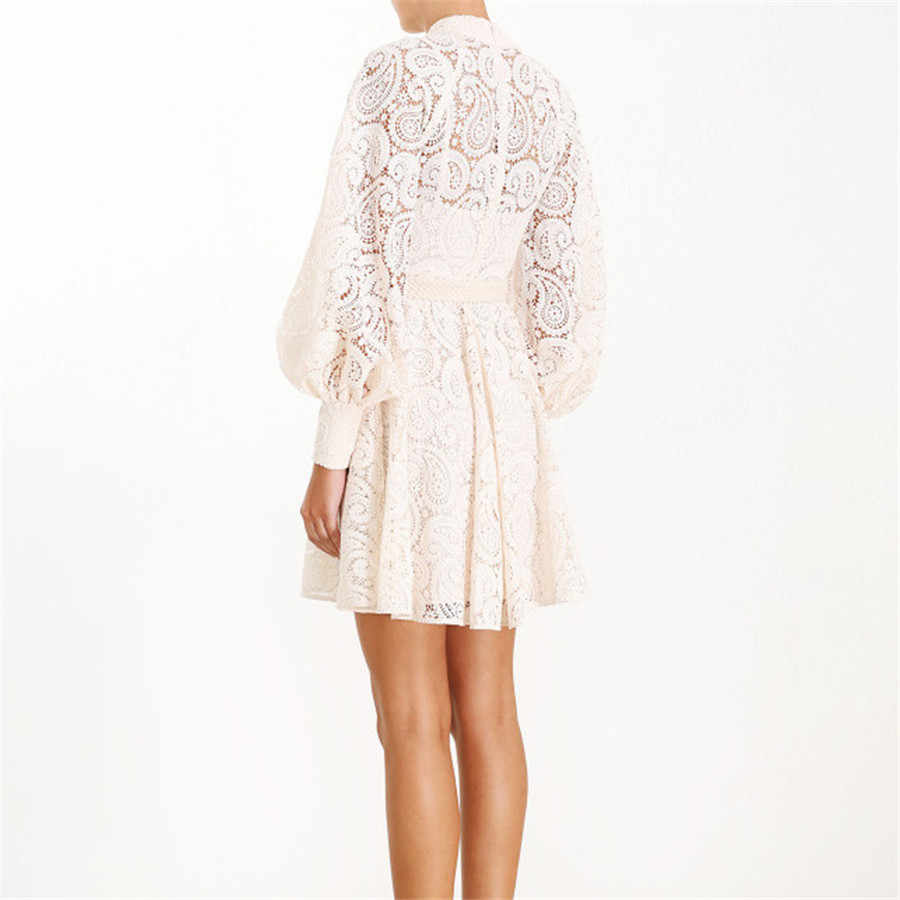 Высококачественное женское модное винтажное платье с вышивкой, кружевное открытое белое платье, праздничное и праздничное сексуальное платье, мини-платье для женщин
