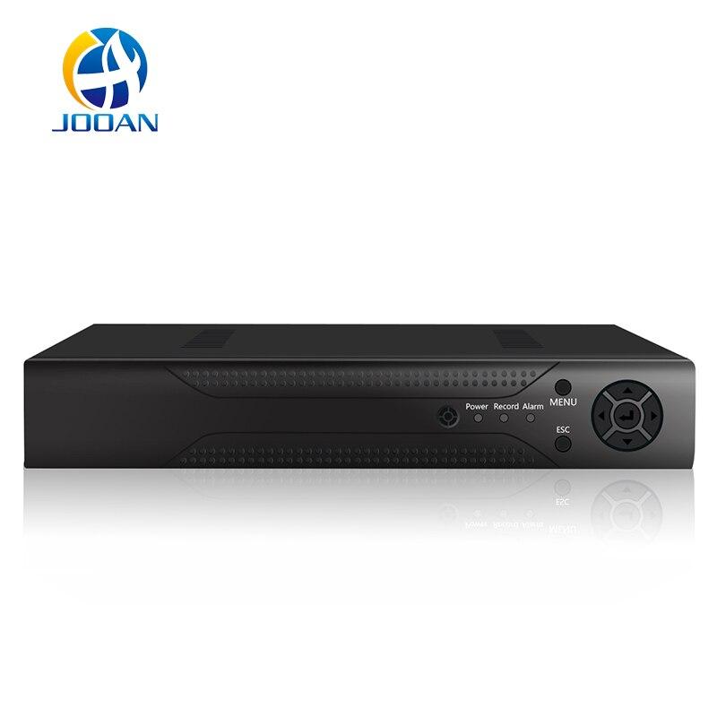 JOOAN 48V PoE NVR 4 Channel 1080P IEEE802.3af Security NVR PoE Switch Inside ONVIF 4CH PoE CCTV NVR Surveillance Video Recorder