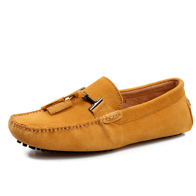 GOXPACER Autumn And Spring New Men Shoes Moccasins Casual Shoes Tassel Male Flats Loafers Low Cut Genuine Leather Shoes MenGOXPACER Autumn And Spring New Men Shoes Moccasins Casual Shoes Tassel Male Flats Loafers Low Cut Genuine Leather Shoes Men