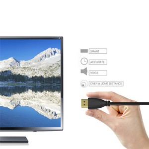 Image 4 - Ad alta Velocità di 90 Gradi Mini HDMI al Cavo di HDMI Gold Plated Spring Curl HDMI V1.4 3D Cavo di HDMI per sony Canon Videocamere
