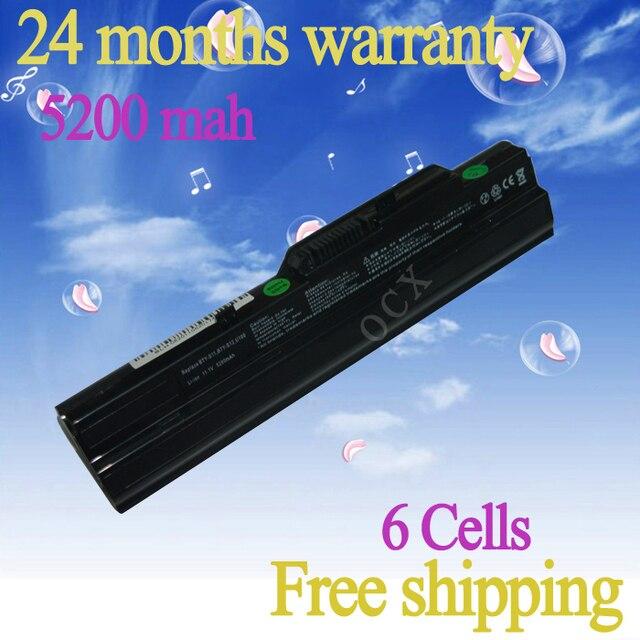 JIGU NEW  Laptop Battery For MSI U100 U120 U90 U130 U135 U100X For LG X110 Series BTY-S11 BTY-S12 Black