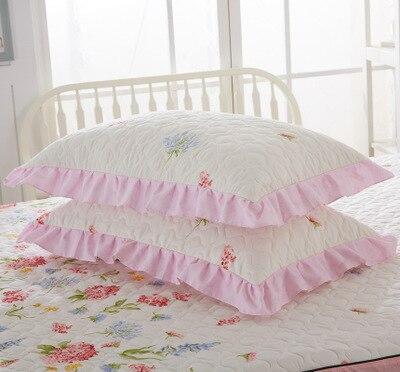 2018 Rabbit Flowers Padded cotton Double Face Envelope Pillowcase Single Pillow Cover Multicolor Pillow Case Standard 48*74cm