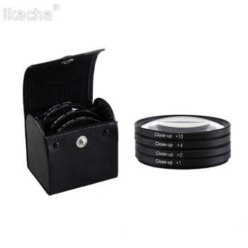 Macro Close Up Lens Filter +1+2+4+10 Filter Kit 49mm 52mm 55mm 58mm 62mm 67mm 72mm 77mm 82mm for Canon Nikon Sony DSLR Camera - DISCOUNT ITEM  35% OFF All Category