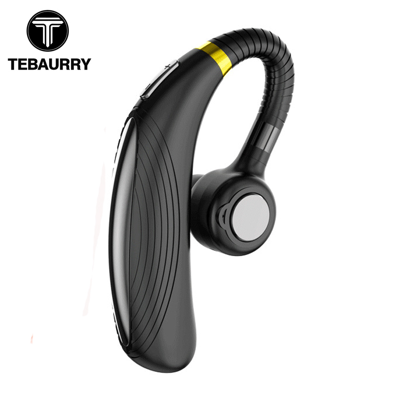 TEBAURRY K06 Bluetooth Earphone Wireless Headphone 300mAh Long Standby Headset With Microphone HD Music Earphone Bluetooth