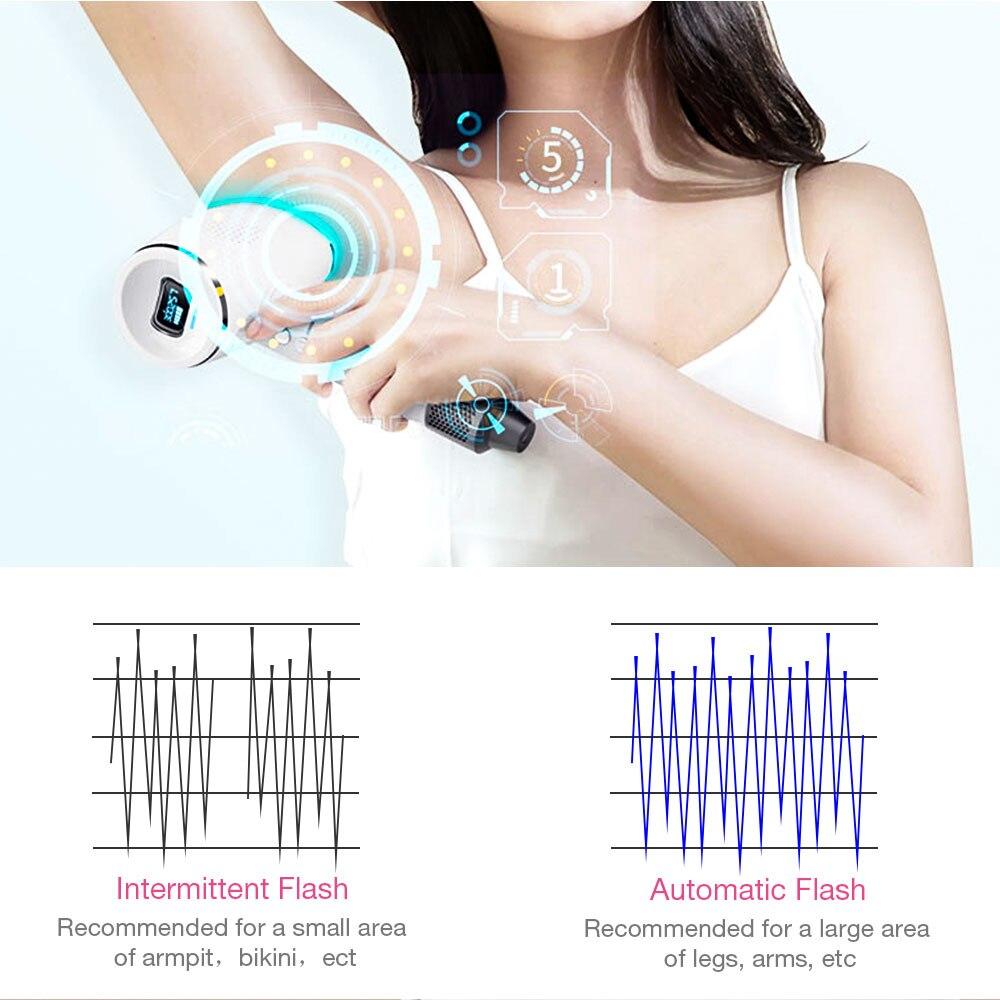 3 in 1 IPL Ontharing IJS Koud Epilator Permanente Laser voor Thuis Bikini Trimmer Elektrische Photorejuvenation Depilador - 5