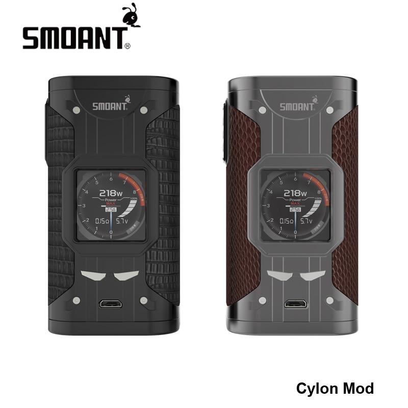 Nouveau 100% D'origine 218 w Smoant Cylon TC Mod 218 w VW Puissance Variable de cigarette électronique 510 fil vaporisateur mod pour vaper