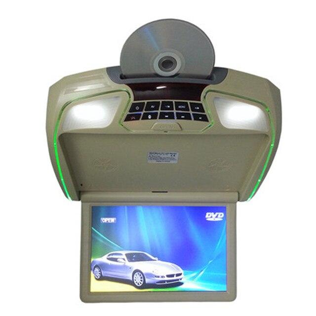 12 Pulgadas del coche Tapa de monitor TFT LCD Display auto Techo Monitor Montado En el Techo Del Automóvil USB/SD/IR/FM/mp5/DVD/juegos fuction