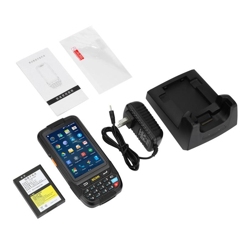 Cudowna Bezprzewodowy Terminal ręczny skaner kodów kreskowych PDA do TK01