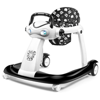 Multi function baby walker anti rollover 6/7 18 months can sit can push foldable 2018 new baby walkers