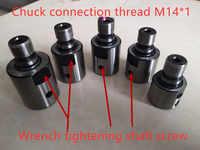 8mm 10mm 12mm 14mm 15mm 16mm 19mm adapter M14 * 1 pleuel stecker Buchse Für holzzange Drehmaschine Bank Mühle DIY