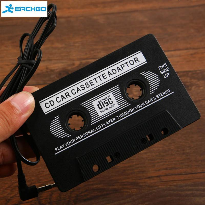 New Audio Car Cassette Tape Adapter 3.5 MM For iPhone Ipod MP3 AUX