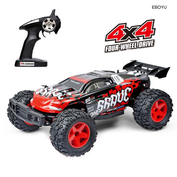 EBOYU SUBOTECH BG1518 Waterproof RC Car 1:12 2.4G 4WD 35KM/h High Speed Off Road Racing Car Remote Control Cars Desert Buggy RTR