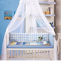 Baby Crib Infant Bed Mosquito Net,Big Size Palace Baby Mosquito Net,Get Bracket, Easy Clean,Dust Anti-mosquito,Crib Mosquito Net