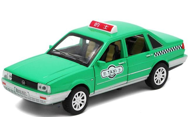 1:32 Toy Car Santana taxi  Metal Toy Alloy Car Diecasts & Toy Vehicles Car Model Miniature Scale Model Car Toy For Children