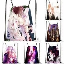 CustomDiabolik Lovers Haunted dark Drawstring Backpack Bag Cute Daypack Kids Satchel Black Back 31x40cm 180531 04