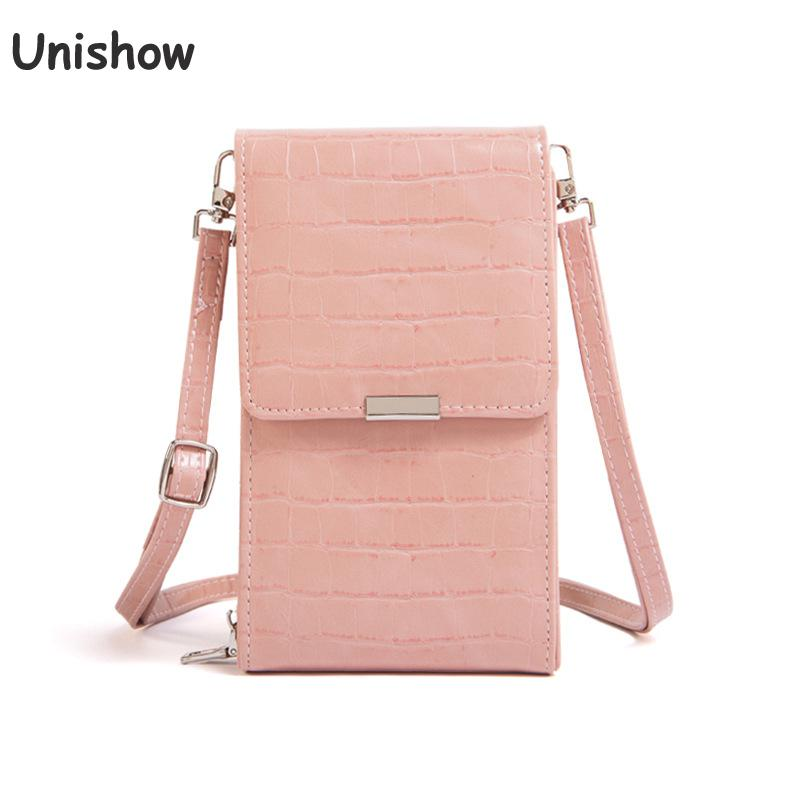 Fashion Stone Pattern Women Small Shoulder Bags 2019 Brand Designer Mini Crossbody Messenger Bags Female Phone Purse Wallet