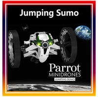 2014 New Arrival Hot Sales Wifi Mini Drones Parrot Jumping Sumo Robot Toy Smartphone Tablet