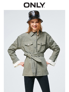 Только 2019 женская Свободная Повседневная джинсовая куртка куртка женская | 119154529