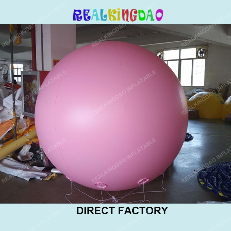 Free shipping 2m Giant Pink Inflatable balloon for Advertising,PVC Material Sky Sphere