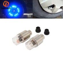 POSSBAY автомобильная шина колеса синий светодиодный клапан колпачок Стволовые огни освещение запасные шины автомобильные чехлы велосипед автобус аксессуары для мотоциклов