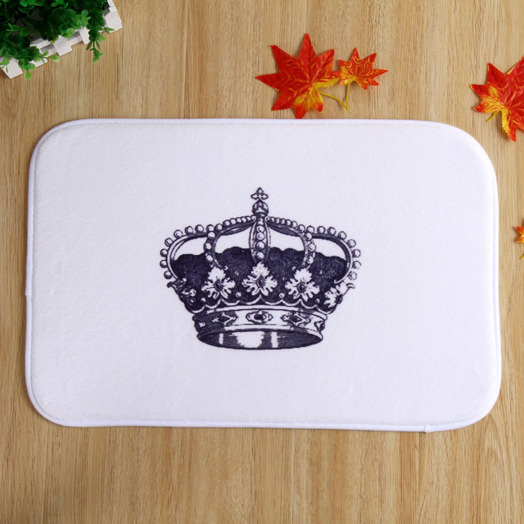 New Design ImperialCrown Home Door Front Non Slip Mat Carpet 40x60 Entrance Doormats Living Room Bedroom Floor Mats Kitchen Rugs