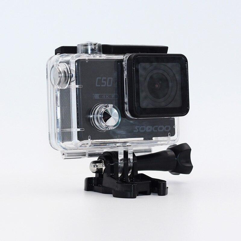 Sport & Action-videokameras Soocoo C50 4 Karat 24fps Action Kamera Wifi Gyro 2,0 lcd-bildschirm 12mp Action Sports Kamera 30 Mt Wasserdichte Sport Dv Camcorder